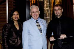 Director Rafe MacPhail, Jr., June Jillian, Pres. & Jeffrey Jones-Ragona, Music Dir